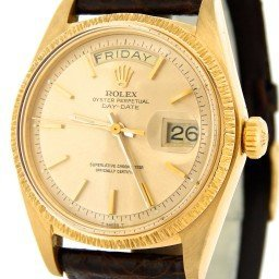 Mens Rolex 18K Gold Day Date President Champagne 1807 (SKU 3137928BMT)