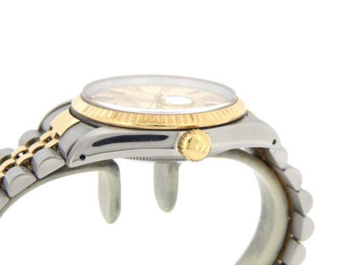 Rolex Two-Tone Datejust 16233 Champagne -5
