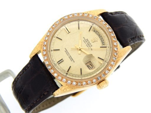 Rolex 18K Yellow Gold Day-Date President 1807 Champagne -5