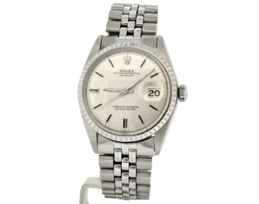 Rolex Stainless Steel Datejust 1603 Silver -7