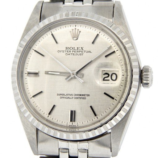 Rolex Stainless Steel Datejust 1603 Silver -1