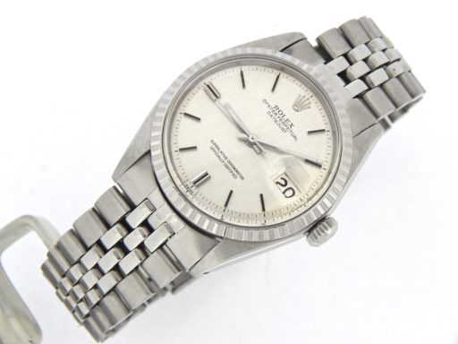 Rolex Stainless Steel Datejust 1603 Silver -6