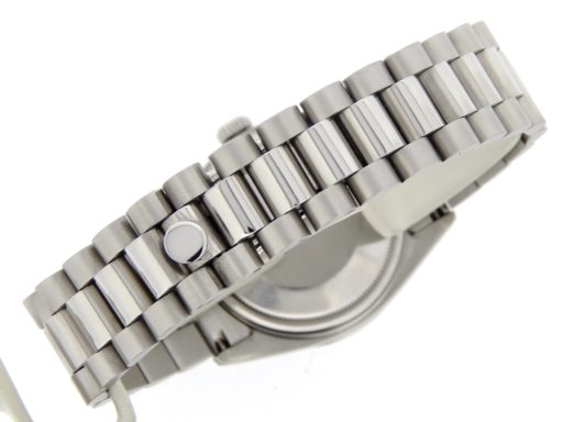 Rolex Stainless Steel Datejust 1603 Tahitian MOP Diamond-2