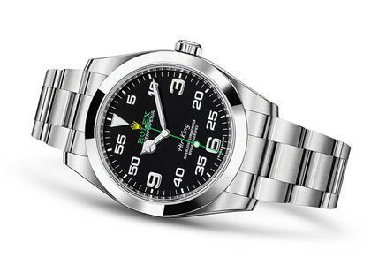 GQ says a <strong>Rolex Air King</strong> is the only watch a man needs to own