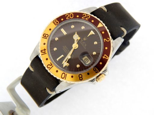 Rolex Two-Tone GMT-Master 16753 Brown Rootbeer Nipple-8