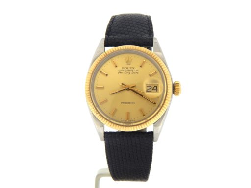 Rolex Two-Tone Air-King 5701 Champagne -8
