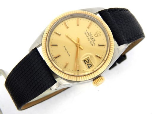 Rolex Two-Tone Air-King 5701 Champagne -6