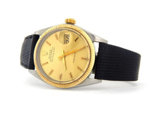 Rolex Two-Tone Air-King 5701 Champagne -7