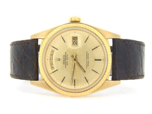Rolex 18K Yellow Gold Day-Date President 1803 Champagne -4