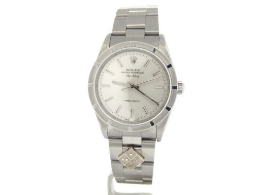 Rolex Stainless Steel Air-King 14010M Silver-9