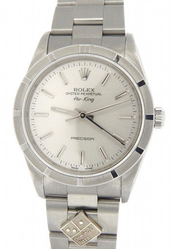 Rolex Stainless Steel Air-King 14010M Silver-1