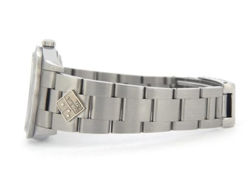Rolex Stainless Steel Air-King 14010M Dominos Silver-5