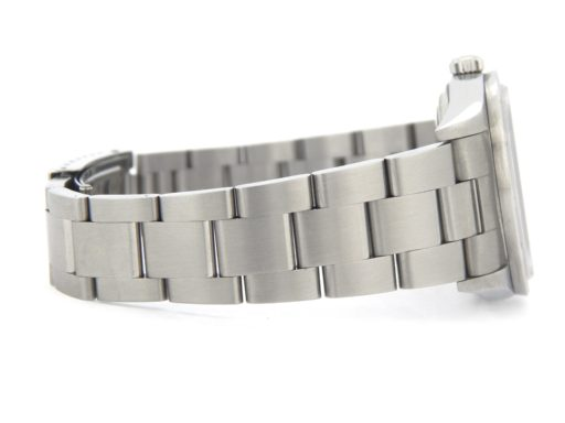 Rolex Stainless Steel Air-King 14010M Dominos Silver-4