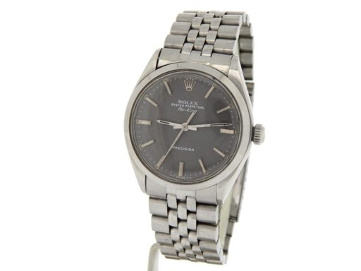 Rolex Stainless Steel Air-King 5500 Gray, Slate-10