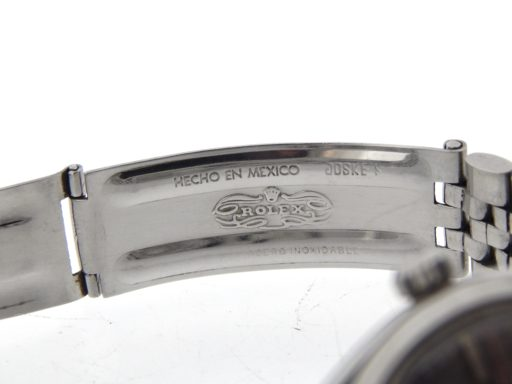 Rolex Stainless Steel Air-King 5500 Gray, Slate-3