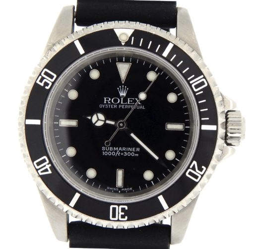 Rolex Stainless Steel Submariner 14060 Black -1