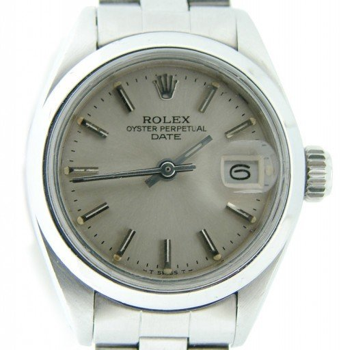 Rolex Stainless Steel Date 6916 Silver -1