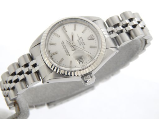 Rolex Stainless Steel Date 6917 Silver -5
