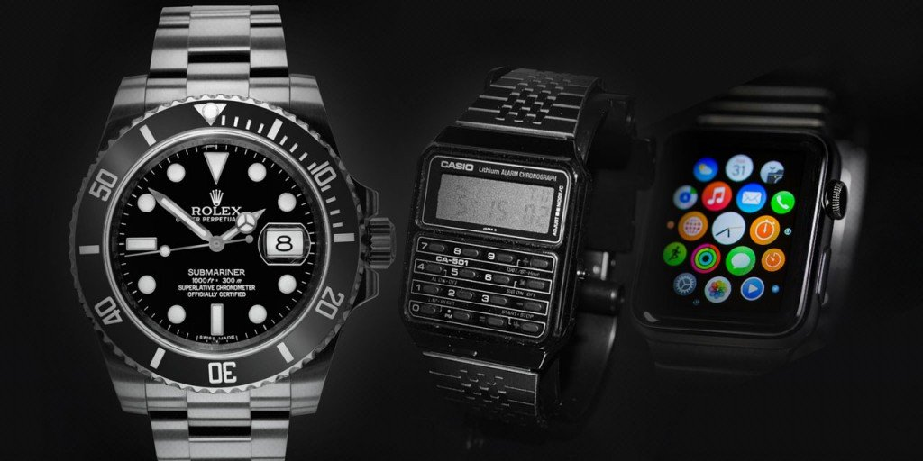 Post image for I Have a Used Rolex Submariner, an Apple Watch and an Older Casio With a Built-In Calculator; Which Watch Should I Wear?