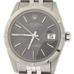 Mens Rolex Stainless Steel Date Gray Slate 1501 (SKU 3914142MT)