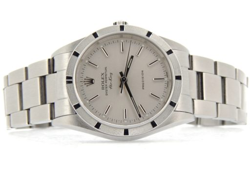 Rolex Stainless Steel Air-King 14010 Silver -7