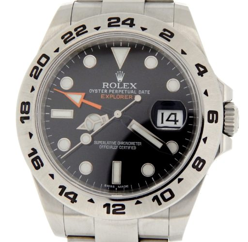 Rolex Stainless Steel Explorer II 216570 Black -1