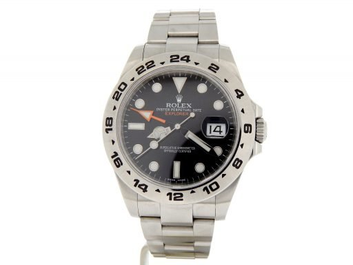 Rolex Stainless Steel Explorer II 216570 Black -10