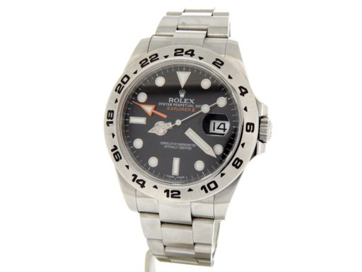 Rolex Stainless Steel Explorer II 216570 Black -9