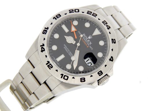 Rolex Stainless Steel Explorer II 216570 Black -8
