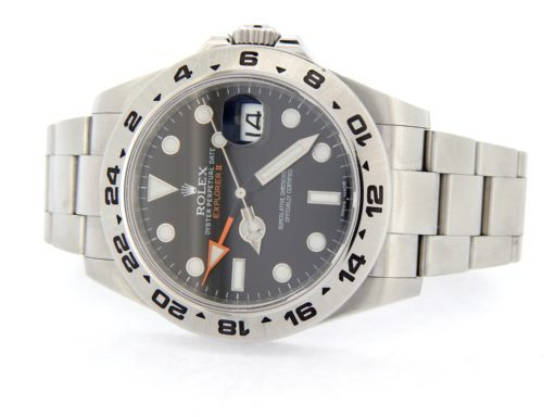 Rolex Stainless Steel Explorer II 216570 Black -7