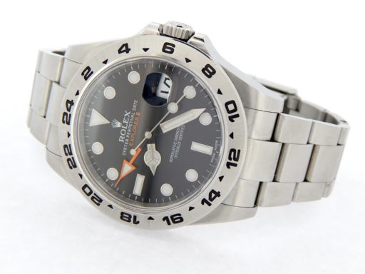 Rolex Stainless Steel Explorer II 216570 Black -6
