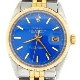 Mens Rolex Two-Tone 14K/SS Datejust Blue  1601 (SKU 3120902MT)