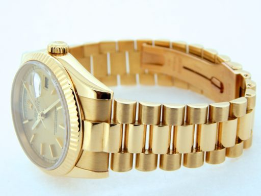 Rolex 18K Yellow Gold Day-Date President 118238 Champagne -3