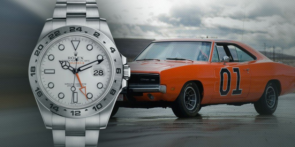 Post image for Pre-Loved Rolex Wristwatches are as Iconic as the Dodge Challenger