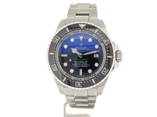 Rolex Stainless Steel DEEPSEA 116660 Black & Blue -11