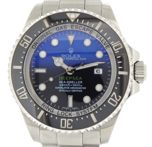 Rolex Stainless Steel DEEPSEA 116660 Black & Blue -1