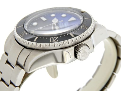 Rolex Stainless Steel DEEPSEA 116660 Black & Blue -7