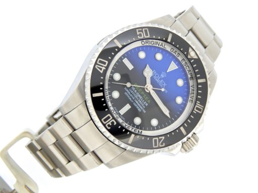 Rolex Stainless Steel DEEPSEA 116660 Black & Blue -10