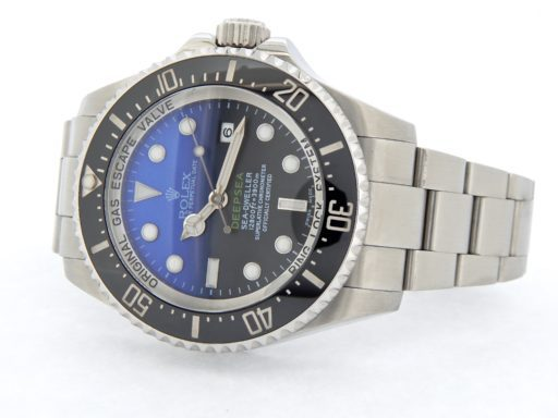 Rolex Stainless Steel DEEPSEA 116660 Black & Blue -8