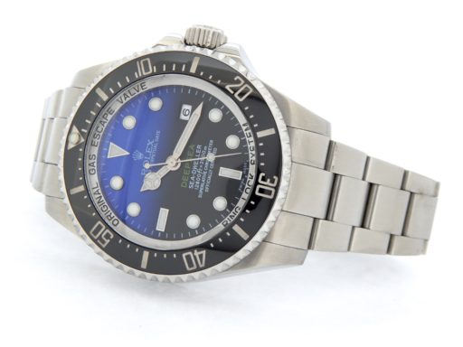 Rolex Stainless Steel DEEPSEA 116660 Black & Blue -9