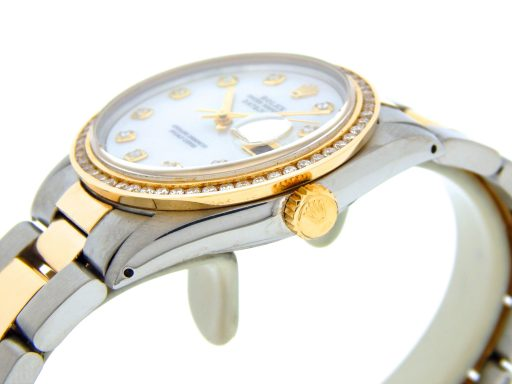 Rolex Two-Tone Datejust 16013 White MOP Diamond-5