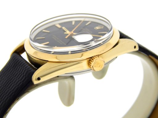 Rolex Gold Shell Date 1550 Black-5