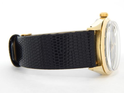 Rolex Gold Shell Date 1550 Black-4