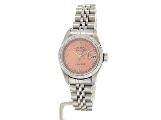 Rolex Stainless Steel Datejust 79190 Salmon Roman-8