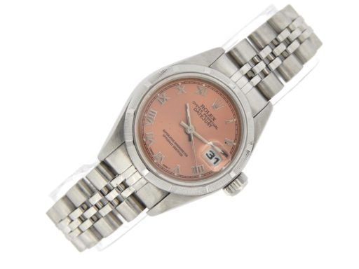 Rolex Stainless Steel Datejust 79190 Salmon Roman-7