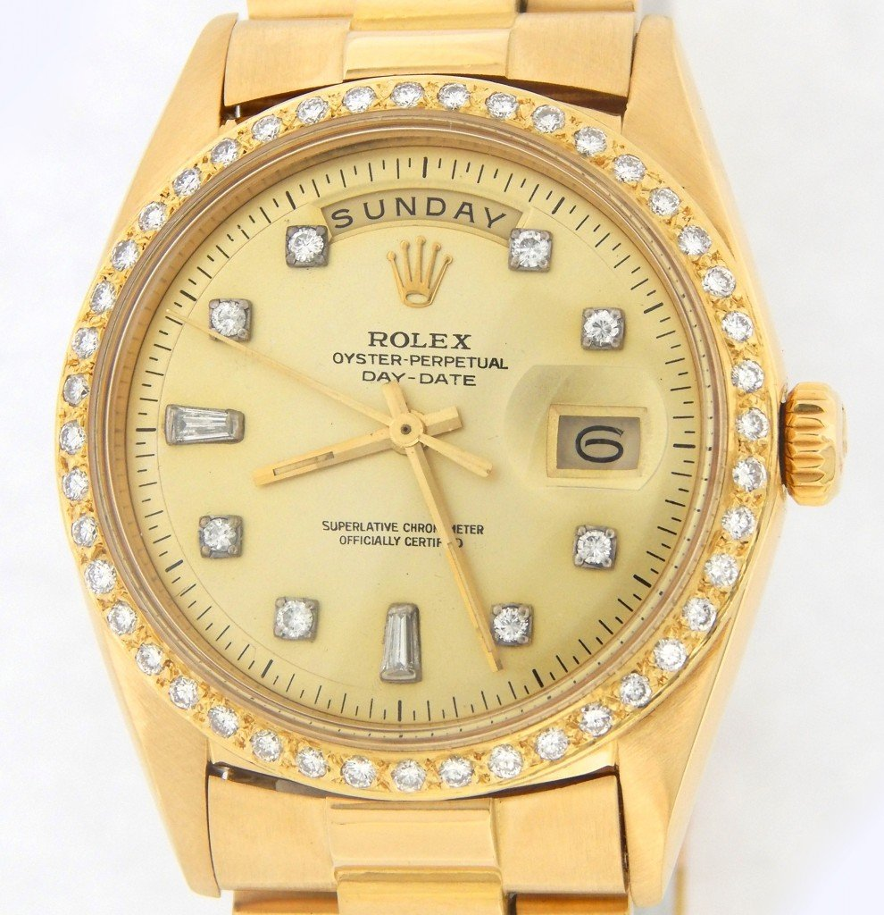Rolex Mens Gold Day-Date President 1803 for sale | SKU ...