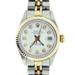 Ladies Rolex Two-Tone 14K/SS Datejust White Diamond 6917 (SKU DJ7828MT)