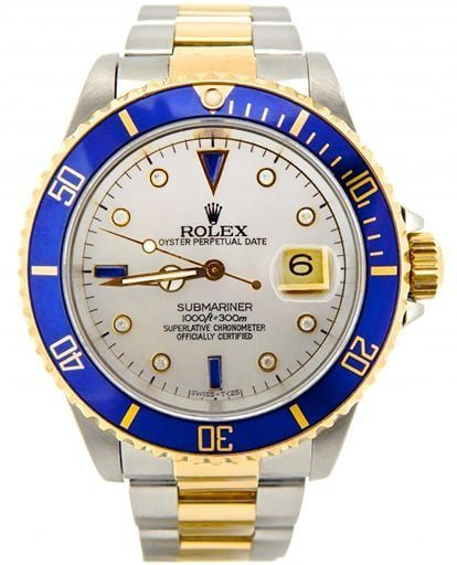Rolex Mens Submariner Two-Tone