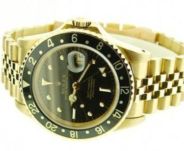 The High Flying <strong>Gold GMT Master</strong>