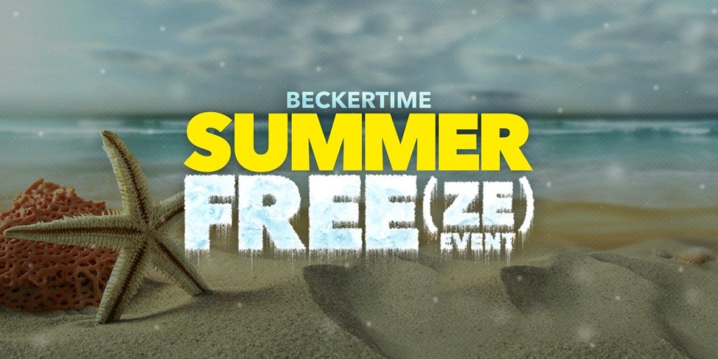 Post image for Announcing BeckerTime's Summer Free(ze) Event